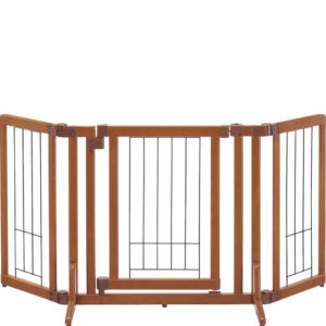 木製おくだけドア付ゲート